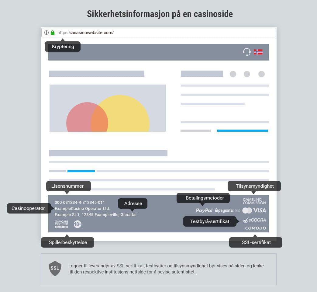 0fe6b1184 Beste nettcasinoer i 08/2019 - Topp 5 trygge, norske casinoer på nett